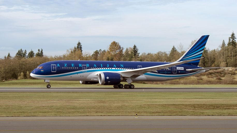 Azerbaijan Airlines B787-8