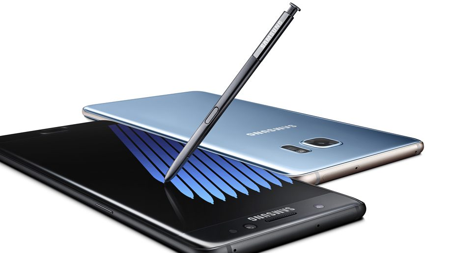 Samsung Galaxy Note 7 - Black and Blue