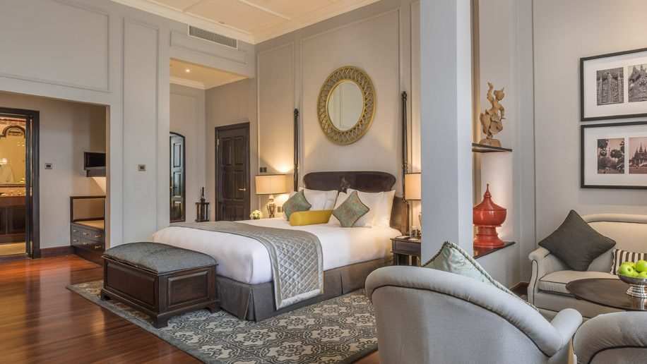 Deluxe Suite at The Strand Yangon