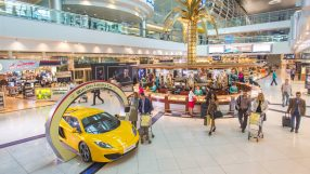 Dubai Duty Free shopping complex at Concourse C