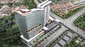 Rendering of the Holiday Inn & Suites Penang Prai