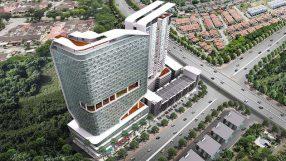 Rendering of the Holiday Inn & Suites Penang Prai