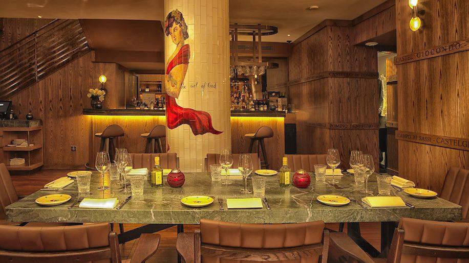 Frescobaldi restaurant, London