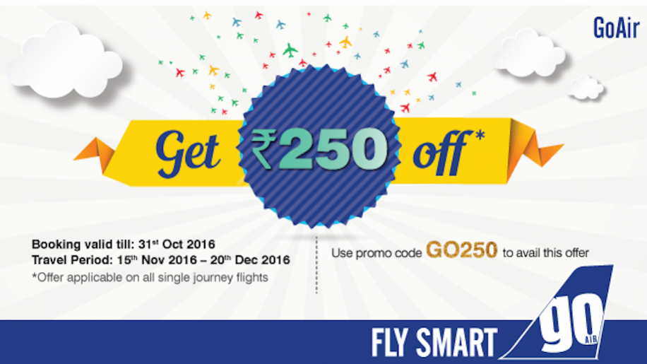 Goair discount coupons