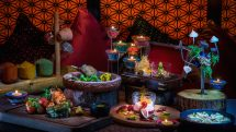 Diwali meal at Rang Mahal by Atul Kochhar, JW Marriott Marquis Dubai