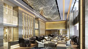 JW Marriott Chengdu lobby lounge