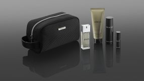 Qatar Airways Giorgio Armani first class amenity kit (male)
