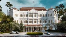 Raffles Hotel Singapore Facade