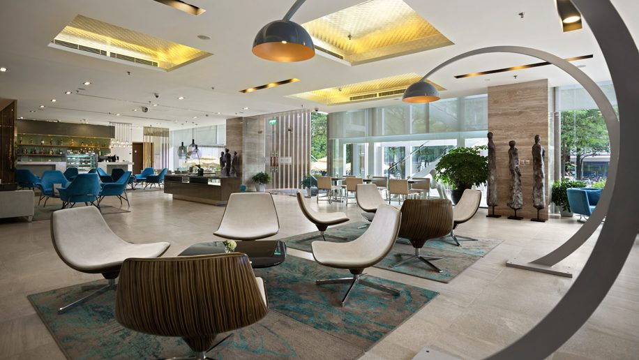 Novotel Suites Hanoi Reception