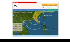 Super Typhoon Haima - Credit: Hong Kong Observatory