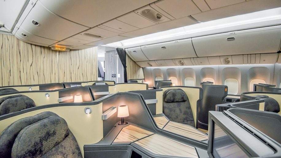 China Airlines B777-300ER Business Class