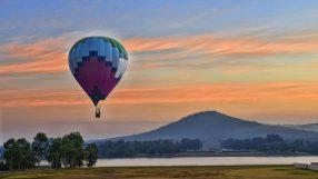 Canberra (picture courtesy of Qatar Airways)