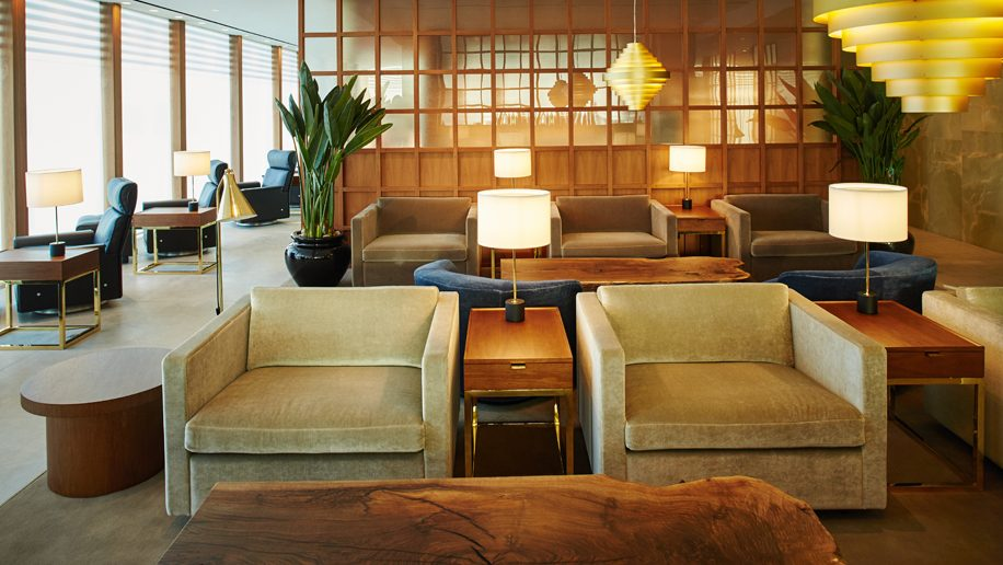Cathay Pacific Heathrow Lounge
