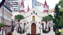 Rosary Church in Hong Kong