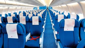 KLM A330-200 economy class