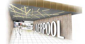 Artist's impression of improvement works at Liverpool airport