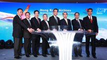 Hong Kong Airlines' 10th anniversary celebration