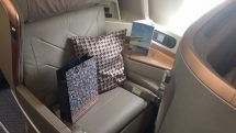 Singapore Airlines A350-900 business class seat
