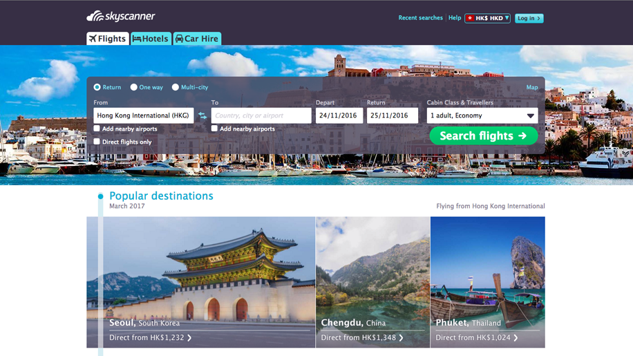 Chinese Travel Site Ctrip.com to Buy Britain's Skyscanner