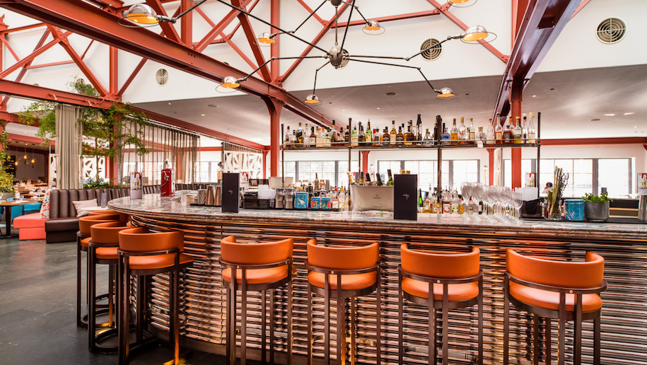 Bluebird Chelsea refurbished bar