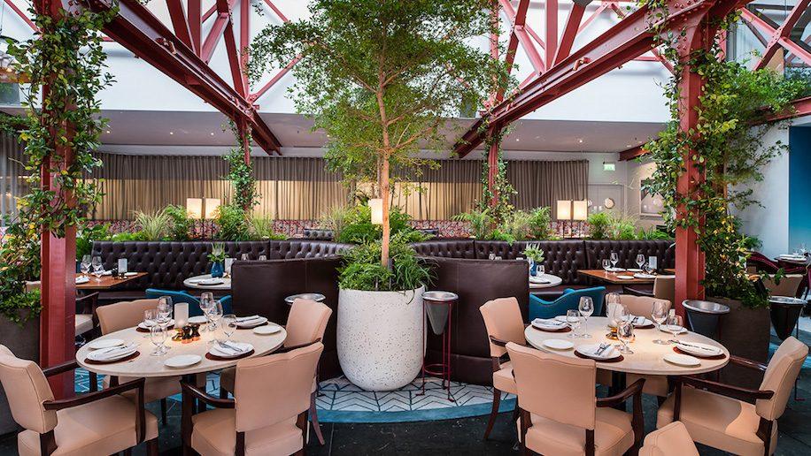 Bluebird restaurant interior, Chelsea