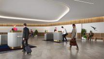 Qantas Premium Lounge Entry facility at Brisbane Domestic Airport