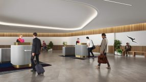 Qantas Premium Lounge Entry facility at Brisbane Domestic Airport