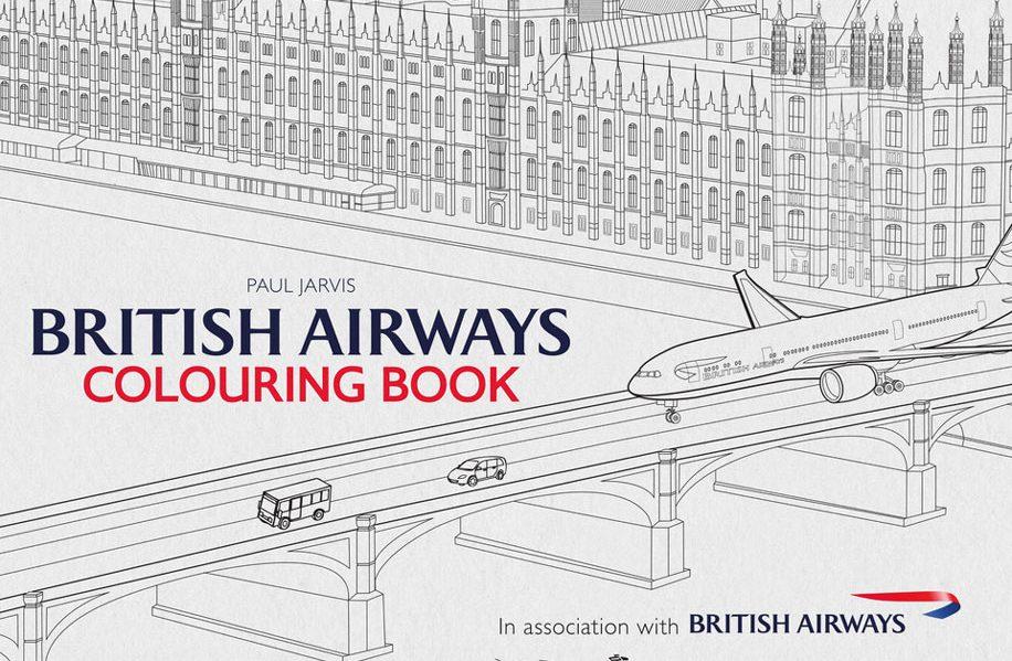 British Airways Launches Colouring Book