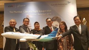 Garuda Indonesia - Mumbai launch