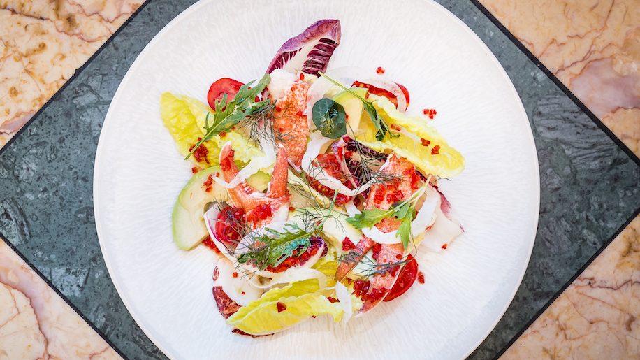 J Sheekey Atlantic Bar lobster salad