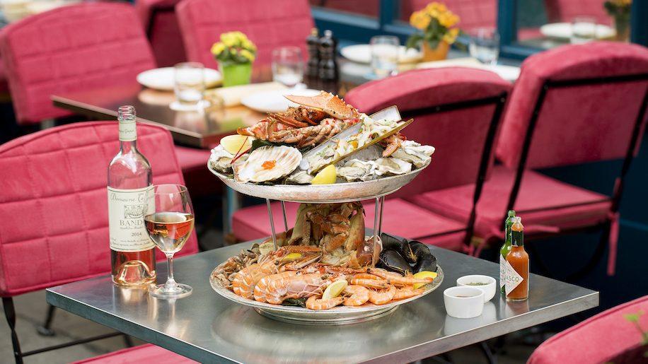 J Sheekey Atlantic Bar fruits de mer
