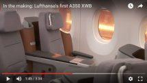 Lufthansa A350 video