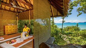 Open treatment rooms at Kamalaya Koh Samui