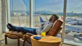 Star Alliance lounge- Rio de Janeiro Galeao airport
