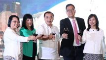 Celebrations ahead of the launch of PAL's new Cebu-Singapore direct service