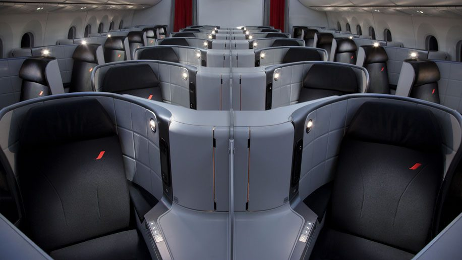 Air France B787-9 business class