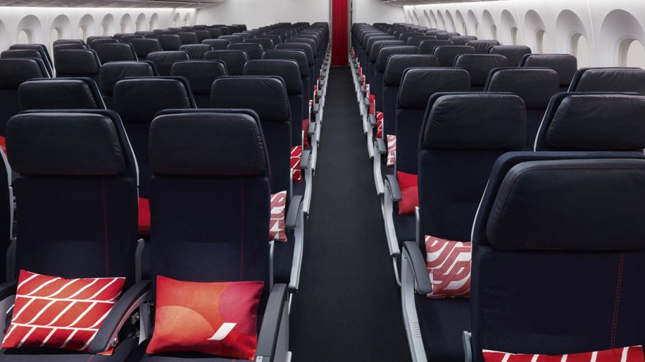 Air France B787-9 economy