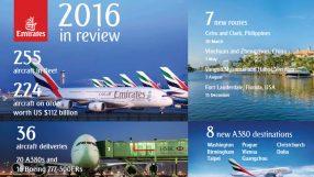 Emirates 2016 infographic