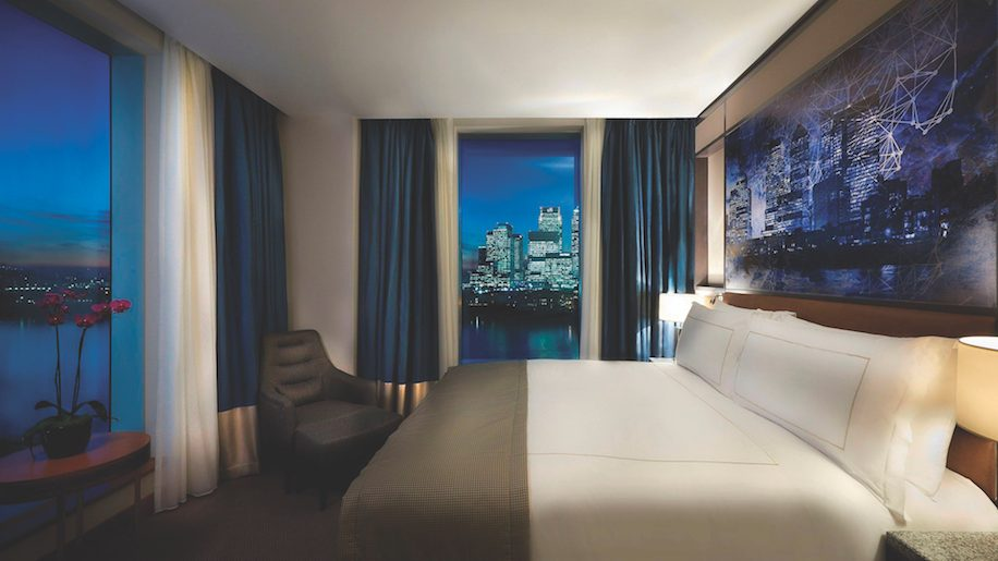 InterContinental London - The O2, King Deluxe ( River and Canary Wharf View)