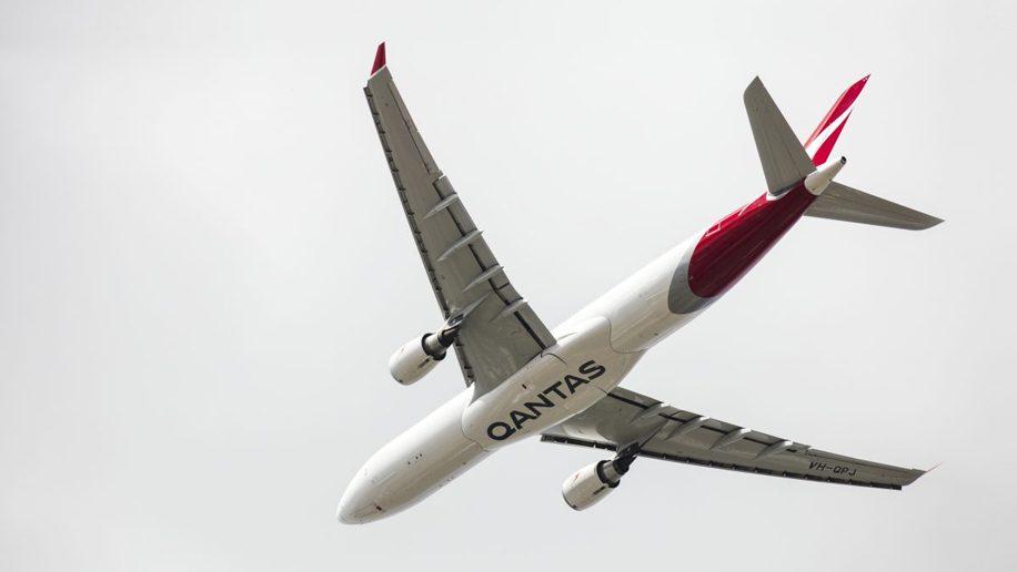 Qantas new livery Airbus A330