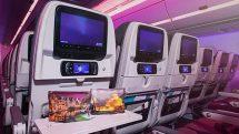 Qatar Airways economy amenity kit
