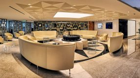 Qatar Airways Paris CDG lounge
