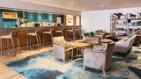 Qube Bar at the Crowne Plaza Felbridge