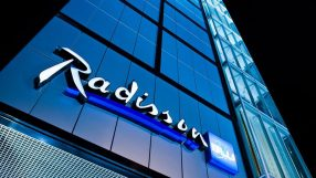 Exterior of the Radisson Blu Hotel, Dubai Waterfront