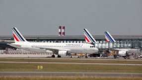 Air France A320 at Paris CDG