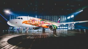 Brussels Airlines A320 Amare aircraft