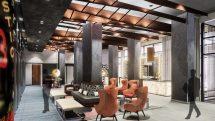Doubletree Hilton New York Times Square lobby