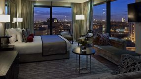 A suite at the Doubletree by Hilton London Greenwich
