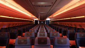 Lufthansa A350-900 interior