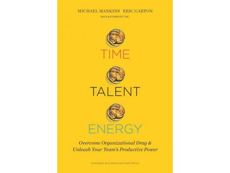 Time Talent Energy business book review